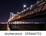 san francisco oakland bay... | Shutterstock . vector #255666721
