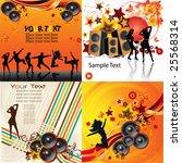 music backgrounds | Shutterstock .eps vector #25568314