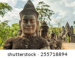 Angkor Wat Temple In Siem Reap...