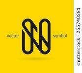 vector graphic creative line...   Shutterstock .eps vector #255740281
