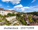 Cityscape Of Berne Old Town In...