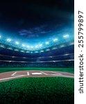 professional baseball grand... | Shutterstock . vector #255799897