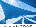 Постер, плакат: Awnings in sails shape