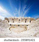 View To The Ruins Of Theater I...