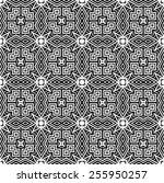 pattern seamless design vector... | Shutterstock .eps vector #255950257