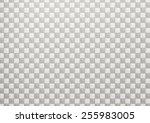 3d rendering of a bath tiles... | Shutterstock . vector #255983005