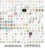 abstract company logo vector...   Shutterstock .eps vector #255990331
