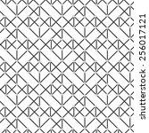 diagonal geometric background.... | Shutterstock .eps vector #256017121