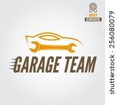 logo  badge  emblem and... | Shutterstock .eps vector #256080079