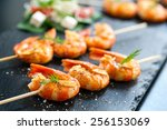 extreme close up of appetizing... | Shutterstock . vector #256153069