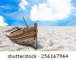 Old Fishing Boat Stranded On A...