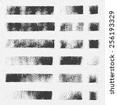 collection of vector textures...   Shutterstock .eps vector #256193329