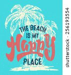 \'beach Is My Happy Place\'...