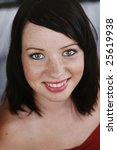 beautiful young caucasian woman ... | Shutterstock . vector #25619938