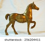 The Statue Of A Horse Made Of...