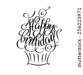 Постер, плакат: Postcards birthday happy birthday