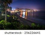 View Of Laguna Beach At Night ...