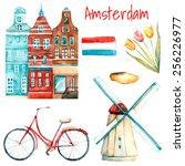 Watercolor Amsterdam...