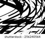 grunge stripe. vector... | Shutterstock .eps vector #256240564