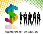 business people | Shutterstock .eps vector #25630315