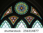 Stained Glass Window In The...