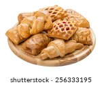french pastries | Shutterstock . vector #256333195