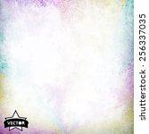 grunge retro vintage texture ... | Shutterstock .eps vector #256337035