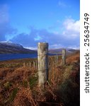 Rural Highlands of Scotland - stock photo