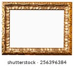 picture frame on white... | Shutterstock . vector #256396384