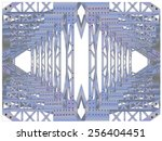 wild imagination combined with...   Shutterstock .eps vector #256404451