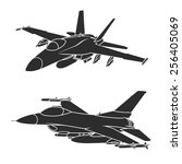 f 18 and f 16 fighter jets....