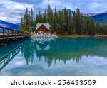 Emerald Lake In Yoho National...