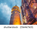 The Galata Tower  Beyoglu  ...