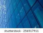 abstract image of the facade of ... | Shutterstock . vector #256517911
