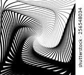 design whirlpool movement... | Shutterstock .eps vector #256548034