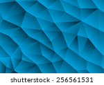 polygonal mosaic background ... | Shutterstock .eps vector #256561531