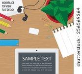 vector illustration of the... | Shutterstock .eps vector #256569364
