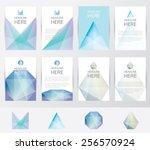 premium set collection of... | Shutterstock .eps vector #256570924