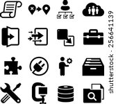 it and software icons | Shutterstock .eps vector #256641139