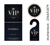 vip zone members premium... | Shutterstock .eps vector #256651879