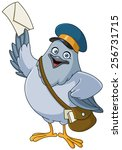 Carrier Pigeon Cartoon