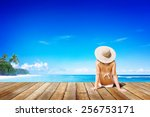 Relaxation Beach Woman Vacatio...