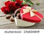 Beautiful Heart Gift Box With...
