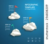 infographics template layout...