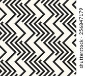 abstract ornate zigzag elements ... | Shutterstock .eps vector #256847179