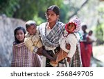 kathmandu  nepal   november 8 ...   Shutterstock . vector #256849705