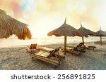 serenity beach | Shutterstock . vector #256891825