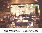 Blur Restaurant Vintage Effect Style - Fine Art prints
