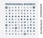 professional business ... | Shutterstock .eps vector #256904449