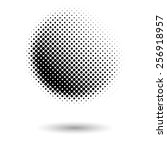 Abstract Dotted Black And Whit...